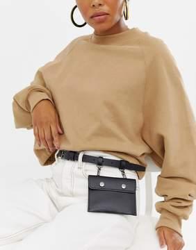 Asos DESIGN pocket purse belt
