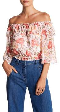WAYF Cosenza Off Shoulder Top