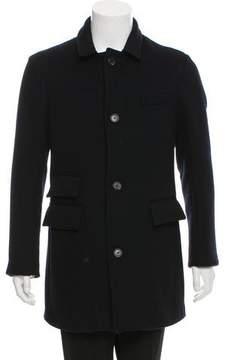 Billy Reid Wool Button-Up Coat