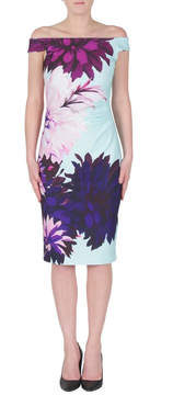 Joseph Ribkoff Off Shoulder Floral Dress