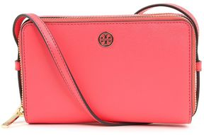 Tory Burch Parker Zip Saffiano-leather Crossbody Bag - ROSSO - STYLE