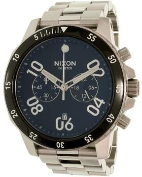 Nixon Men's Ranger Chrono A549000 Silver Stainless-Steel Quartz Dress Watch