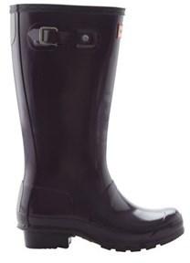 Hunter Unisex Children's Original Kids Gloss Rain Boot.