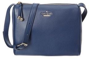 Kate Spade Lombart Street Cayli Leather Crossbody. - BLUE - STYLE