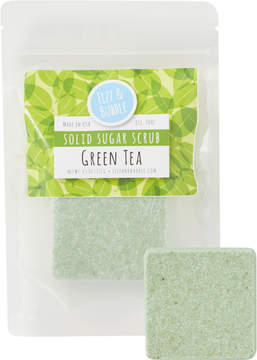 Fizz & Bubble Green Tea Solid Sugar Scrub