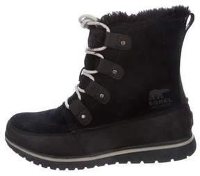 Sorel Suede Mid-Calf Boots