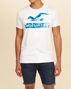 Hollister Logo Graphic Tee