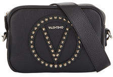 Mario Valentino Valentino By Mia Small Studded Dolaro Leather Crossbody Bag