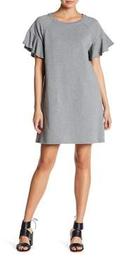 1 STATE 1.State Short Sleeve French Terry T-Shirt Dress