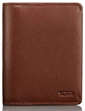 Tumi Men's Leather Card Case - Brown