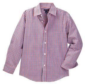 Tommy Hilfiger Alternating Gingham Shirt (Big Boys)
