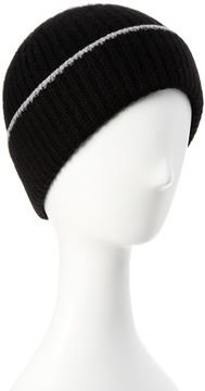 Portolano Men's Black Cashmere Hat