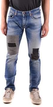 Reign Men's Blue Cotton Jeans.