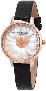 Olivia Burton 3D Daisy White Dial Ladies Watch