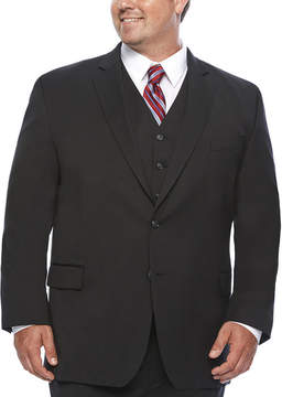 Blend of America STAFFORD Stafford Travel Wool Stretch Suit Jacket Big and Tall