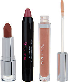 Mally Beauty Mally Lip Sampler 3-piece Collection