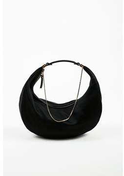 The Row Pre-owned crescent Satin Evening Bag.