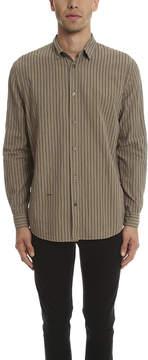 Robert Geller Vintage Stripe Shirt