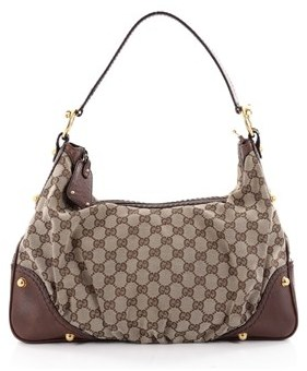 Gucci Pre-owned: Jockey Hobo Gg Canvas Medium. - BROWN - STYLE