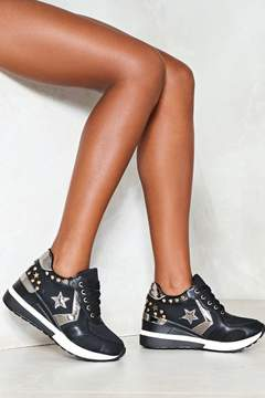 Nasty Gal nastygal Lost Stars Vegan Leather Sneaker