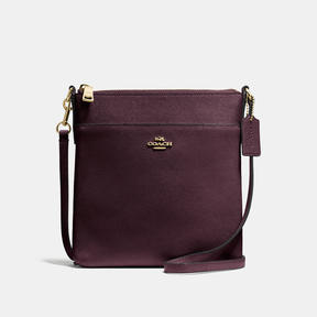 COACH Coach Messenger Crossbody - LIGHT GOLD/OXBLOOD - STYLE