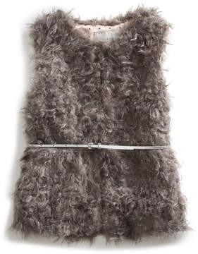 GUESS Carrie Faux-Fur Vest (2-6x)