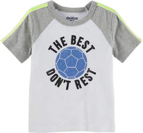 Osh Kosh Oshkosh Bgosh Toddler Boy The Best Don't Rest Soccer Tee