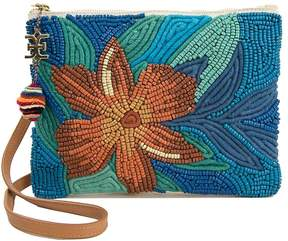 Sam Edelman Women's Anette Embellished Canvas Pouch