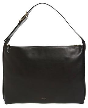 Skagen Anesa Leather Shoulder Bag - Black