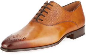 Magnanni Men's Guadiana Leather Lace-Up Oxford