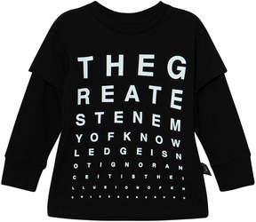 Nununu Black Vision Test T-Shirt