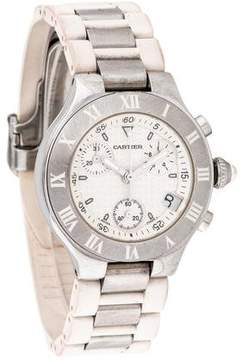 Cartier 21 Chronoscaph Watch