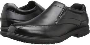 Nunn Bush Sanford Slip Resistant Bicycle Toe Work Slip-On Men's Slip on Shoes