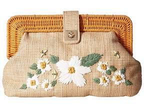 Betsey Johnson Daisy'd Confused Clutch Clutch Handbags