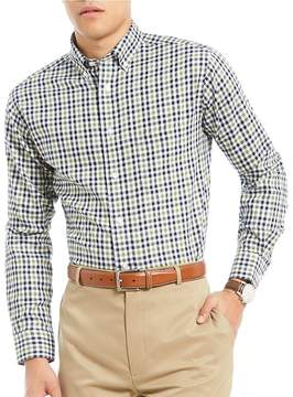Daniel Cremieux Signature Non-Iron Royal Oxford Check Long-Sleeve Woven Shirt