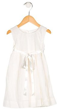 Rachel Riley Girls' Sleeveless Embroidered Dress