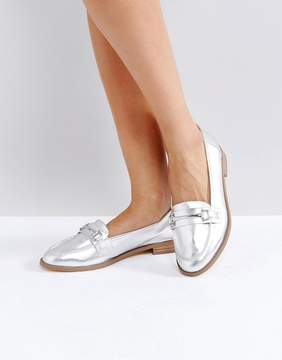 Faith Adele Metallic Loafers