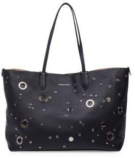 Alexander McQueen Leather Medium Shopper Bag