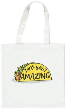 Forever 21 Taco Graphic Tote Bag