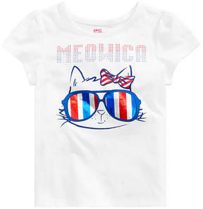 Epic Threads Little Girls Graphic-Print T-Shirt, Created for Macy's