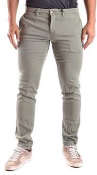 Siviglia Men's Green Cotton Pants.