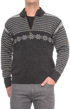 Dale of Norway Fisketorget Sweater - New Wool, Zip Neck (For Men)