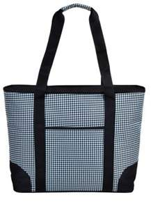Picnic at Ascot Unisex Extra Large Insulated Tote Houndstooth.