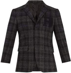 Raf Simons Single-breasted wool blazer
