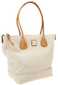 Dooney & Bourke As Is Suede Tulip Shopper - ONE COLOR - STYLE