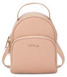Furla Mini Leather Backpack