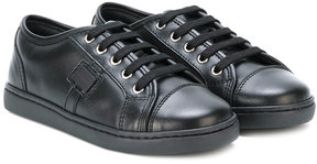 Dolce & Gabbana Kids lace-up sneakers