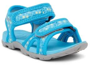 Bogs Whitefish Dots Water Friendly Sandal (Little Kid)