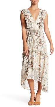WAYF Primrose Floral Hi-Lo Dress