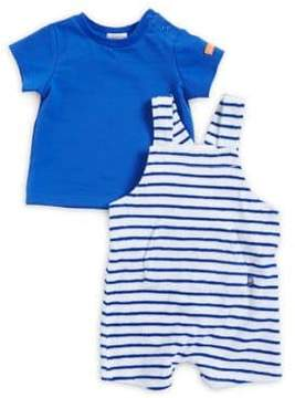 Absorba Baby Boy's Two-Piece Tee and Shortall Set